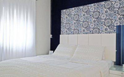 Tipos de materiais para quartos decorados com papel de parede